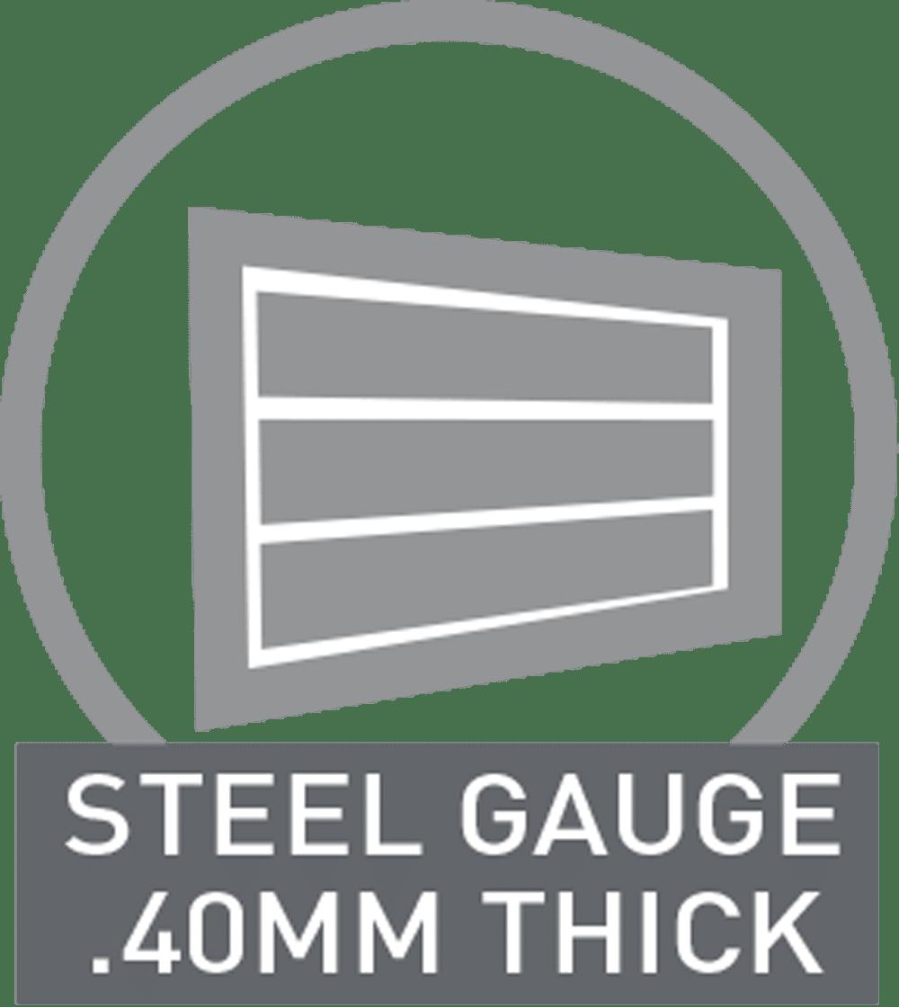 steel gauge 40mm thick