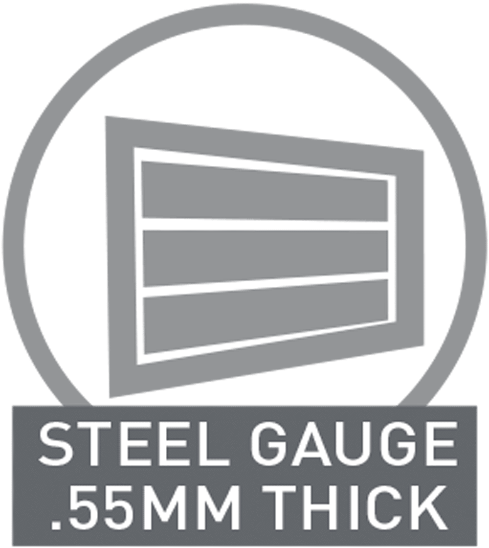 steel gauge 55mm thick